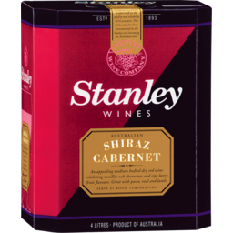Photo of Stanley Shiraz Cabernet