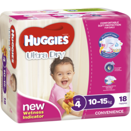 Photo of Huggies Ult/Dry Todd Girl 18s