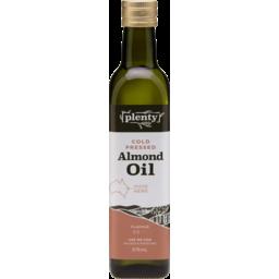 Photo of Plenty Cold Pressed Almond Oil 375ml