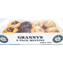 Photo of Granny's Assorted Muffins 8pk 680g