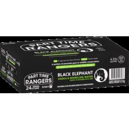 Photo of Part Time Rangers Black Elephant 24 Pack (6x4pk) 330ml 6.0x4ml