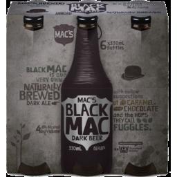 Photo of Macs Black 6 x 330ml Bottles