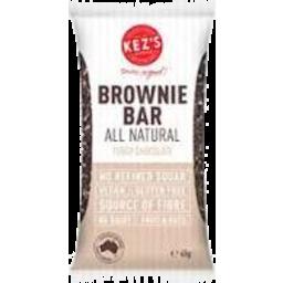 Photo of Kez Brownie Bar Fudgy Choc 45g
