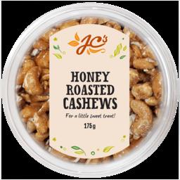 Photo of Jc's Cashew Honey Roasted Tub 175gm