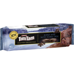 Photo of Arnott's Tim Tam Biscuits Murray River Salted Double Choc 175g
