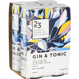 Photo of 23rd Street Gin & Tonic Can