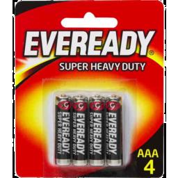 Photo of Eveready Super Heavy Duty Aaa Battery 4pk
