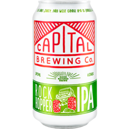 Photo of Capital Brewing Rock Hopper Ipa Can