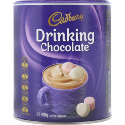 Photo of Cadbury Drinking Chocolate Chocolate Beverage 400g