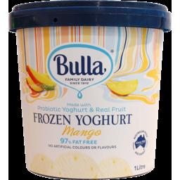 Photo of Bulla Mango Frozen Yoghurt 1l