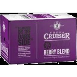 Photo of Vodka Cruiser Berry Blend 4.6% 275ml 24 Pack