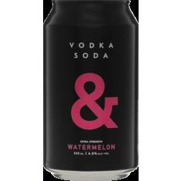Photo of Vodka & Soda Blk Passionfront Can
