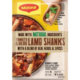 Photo of Maggi Tomato & Herb Lamb Shanks 31g