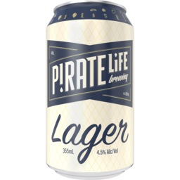 Photo of Pirate Life Port Local Lager Can