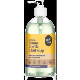 Photo of Simply Clean Hand Soap - Lemon Myrtle 500ml