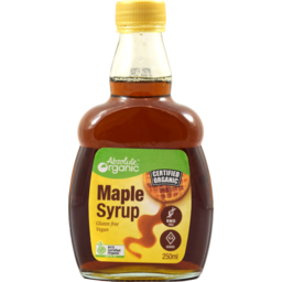 Photo of Absoslute Organic Maple Syrup 250ml