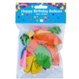 Photo of Korbond Balloon Round Happy Birthday 18pk