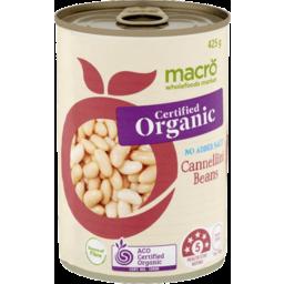 Photo of Macro Organic Cannellini Beans 425g