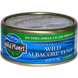 Photo of Wild Planet Tuna Albacore No Salt 142gm