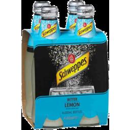 Photo of Schweppes Bitter Lemon Bottles