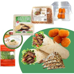 Photo of Chicken Kebab Meal Pack With Spinach & Cheese Gozleme