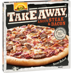 Photo of Mccain Pizza Takeaway Angus Steak & Bacon 500g 500g