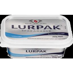 Photo of Lurpak Spreadable Danish Butter Slightly Salted Lighter 250gm