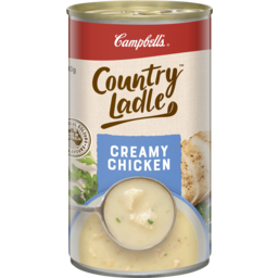 Photo of Campbells Soup Country Ladle Creamy Chicken 500g