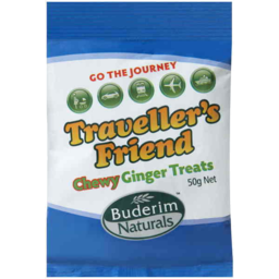 Photo of Go The Journey Travellers Friend Chewy Ginger Treat 50gm
