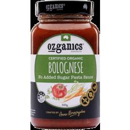 Photo of Ozganics Pasta Sauce - Bolognese