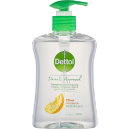 Photo of Dettol Parents Approved Citrus Hand Wash Anti-Bacterial 250ml