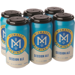 Photo of Mismatch Brewing Co Session Ale Can