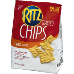 Photo of Ritz Toasted Chips Cheddar Flavor