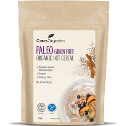 Photo of Ceres Paleo Grain-Free Hot Organic Cereal 300gm