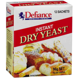 Photo of Defiance Instant Dry Yeast 96gm