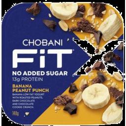 Photo of Chobani Fit X Banana Peanut Punch 140g