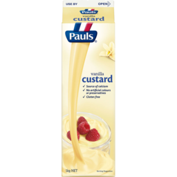 Photo of Pauls Custard Vanilla 1kg