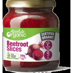 Photo of Absolute Organics Beetroot Slice 340g