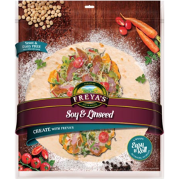 Photo of Wraps Freyas Soy & Linseed 6 Pack