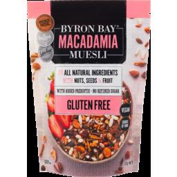 Photo of Byron Bay Macadamia Muesli Gluten Free With Nuts Seeds & Fruit Honey Roasted 350g