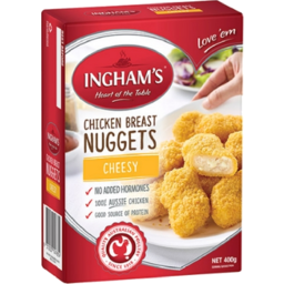 Photo of Inghams Chicken Cheesy Nuggets 400gm