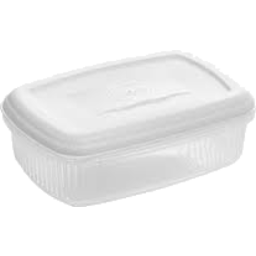 Photo of 1.2l Rect Container With Lid