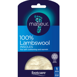 Photo of Footcare Lambswool Insole