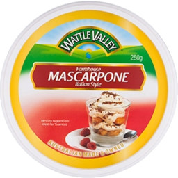 Photo of Wattle Valley Marscapone Tub 250g