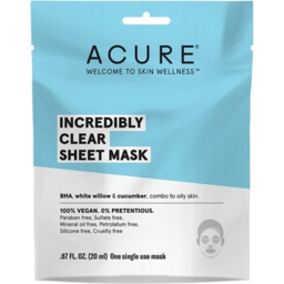 Photo of Acure Inc Clear Face Mask 20ml