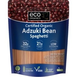 Photo of Eco Organics Gluten Free Spaghetti Adzuki Bean 200gm