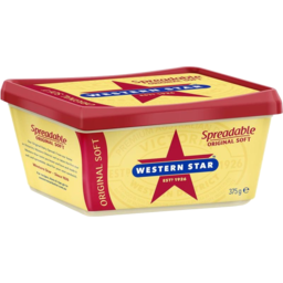 Photo of Western Star Spreadable Soft 375g