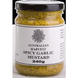 Photo of Australian Harvest - Mustard/Spicy Garlic - 240g