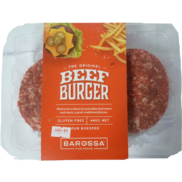 Photo of Barossa Original Beef Burger 440g