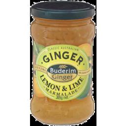 Photo of Buderim Ginger Ginger Lemon & Lime Marmalade 365gm
